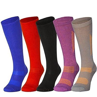 Organic Graduated Compression Socks for Men & Women, Flight, Travel, Nurses, Pregnancy, Sport