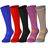 3 or 1 Pairs of Organic Graduated Compression Socks by DANISH ENDURANCE, for Men & Women, Flight, Travel, Nurses...