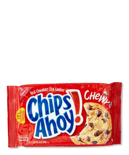 Chips Ahoy ,Chocolate Chips Chewy Cookies – 14 Ounces