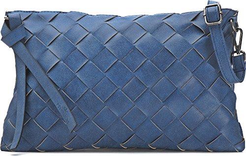 5 32 X Colore Crossover 20 2 5 Cm Miya Tracolla Blau Blu Borse l Donna Sottobraccio Da Frizioni P A Sera P Bloom x47qvS6