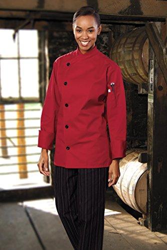 Red Chef Coat - 3
