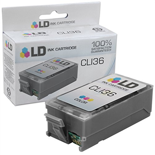 LD Compatible Replacement for Canon CLI36 Color Inkjet Cartridge for use in Canon PIXMA iP100, iP110, mini260, and mini320 Printers (Colour Canon Inkjet)