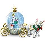 Disney Miniature Cinderella Snowglobe: A Party For A Princess by The Bradford Exchange