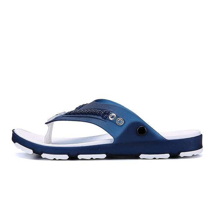 Vertvie Herren Flip-Flops Rutschfest Hausschuhe Wasser Strand Schuhe Sommer Sandalen