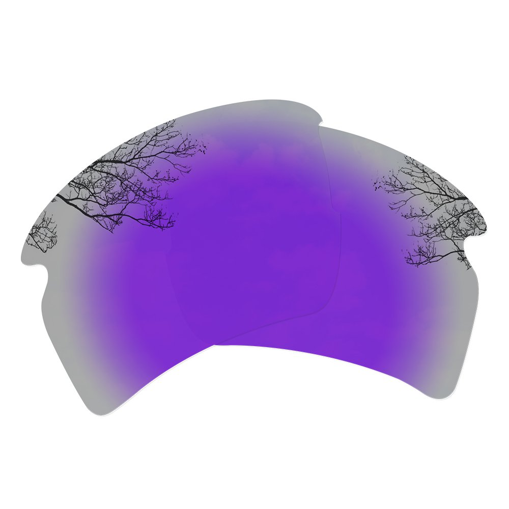 Dynamix Polarized Replacement Lenses for Oakley Flak 2.0 XL - Multiple Options (Violet Purple, Polarized Enhanced) by Dynamix