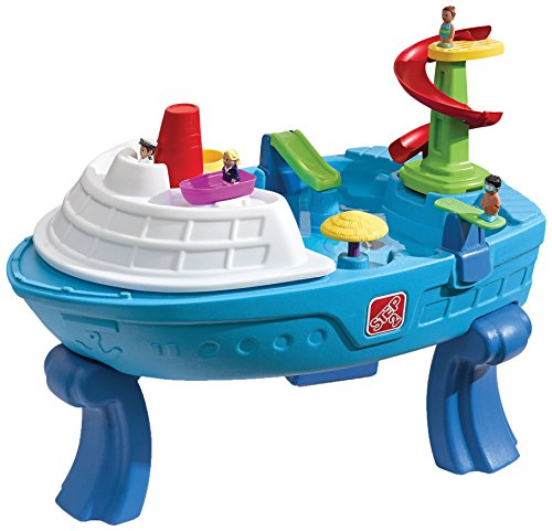 Step2 Fiesta Cruise Sand & Water Summer Center Water Table, Blue