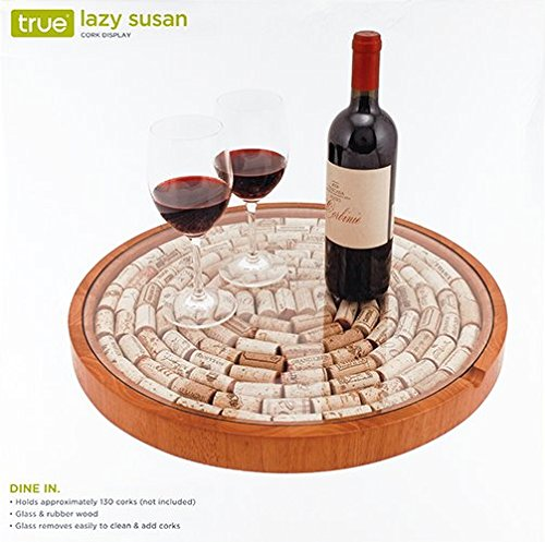 Amazoncom True 2673 Lazy Susan Cork Display Home Kitchen