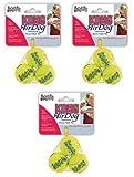 Kong Air Dog Squeaker Ball XS 9pk (3 x 3pk), My Pet Supplies