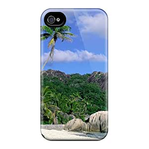 JmBll DFLPqWC5626MsFhJ Case For Iphone 4/4s With Nice Beach Appearance