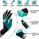 XJYAMUS Garden Genie Gloves, Waterproof Garden