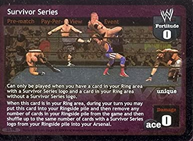 Vengance PROMO Card Raw Deal WWE