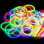 "200 8"" Glow Stick Bracelets,mixed Col..."