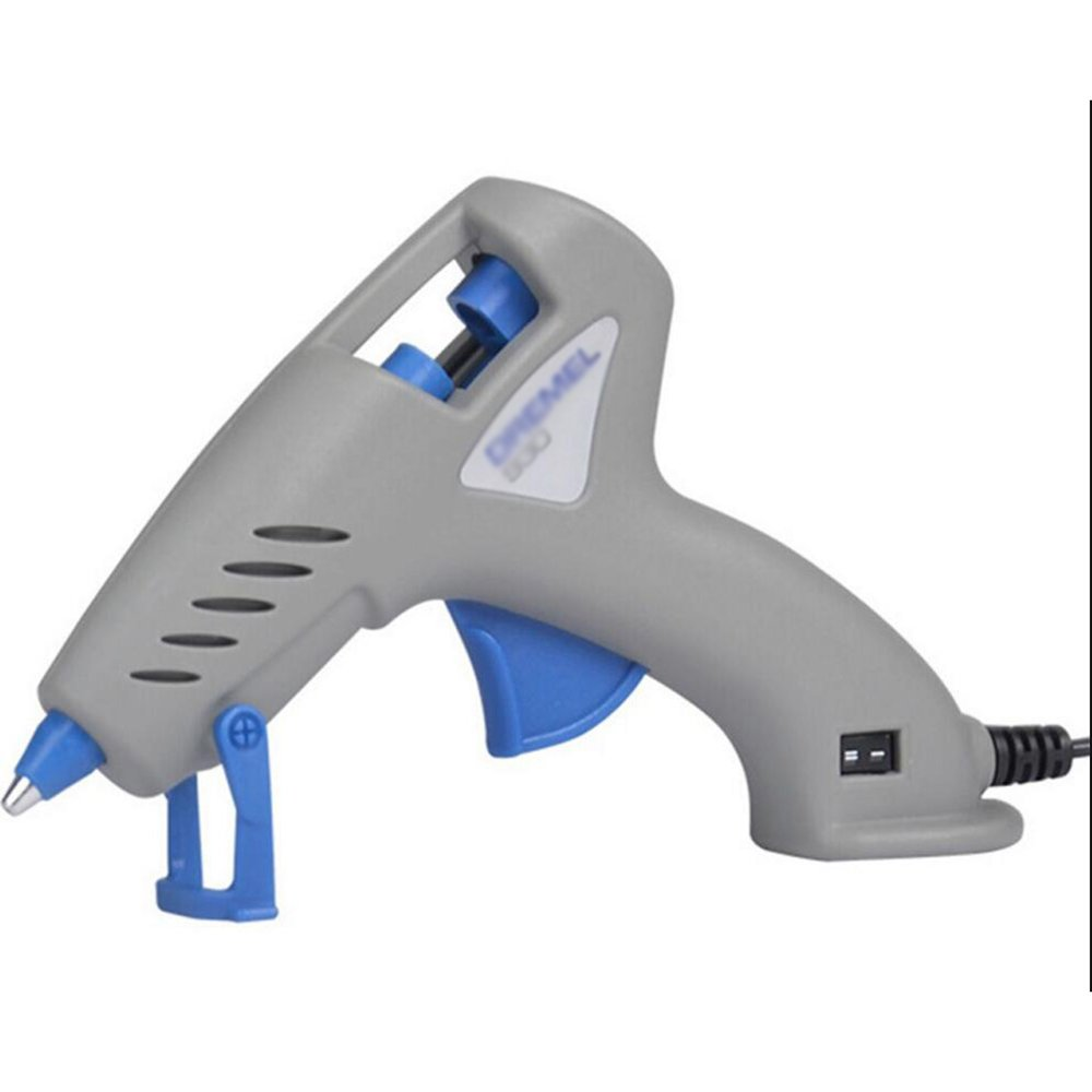 Wly&Home 20W Electric Hot Glue Gun For Hot Melt Adhesives With PLUS 18 Glue Sticks For Hobby, Craft, Mini, Metal, Wood, Glass, Card, Cloth, Plastic And Ceramic (Grey),20W