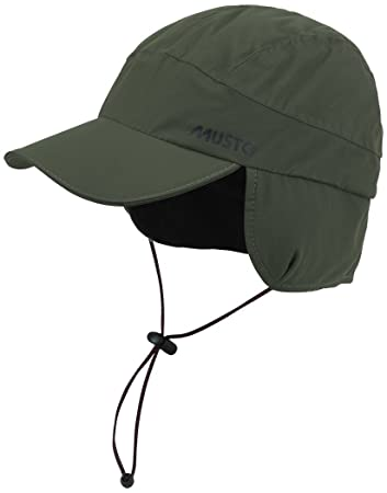 fleece lined baseball cap mens waterproof dark moss woolrich