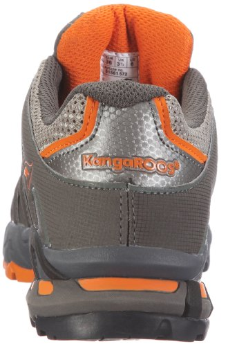 Kangaroos Unisex - Adults Equire Sport Shoes - Outdoors 31561/529 Blk/Blei/Brightapricot OxhqXg