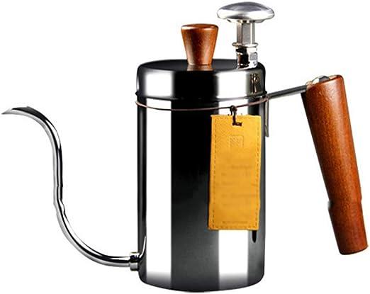 SJQ coffee pot Cafetera Manual de Acero Inoxidable Filtro de