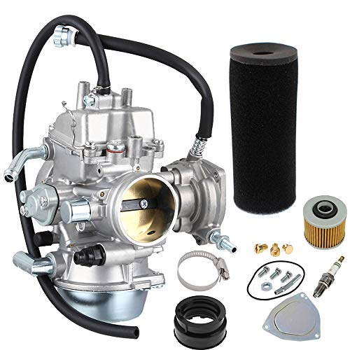NEW Carburetor Carb Replacement for 2002-2008 Yamaha Grizzly YFM660 660 4x4 by LIYYOO ()
