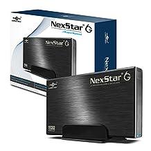 """Vantec 3.5"""" SATA 6Gb/s to USB 3.0/eSATA HDD Enclosure (NST-366SU3-BK)"""