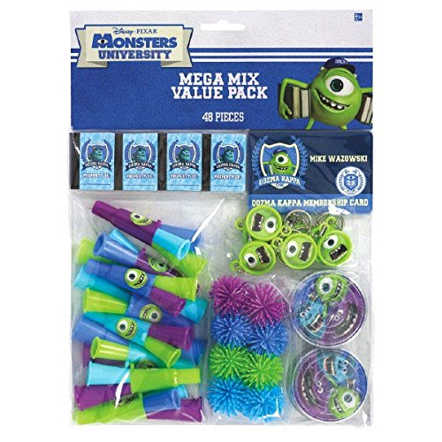 Amscan Oozma-Kappa-Mazing Disney Monsters University Birthda