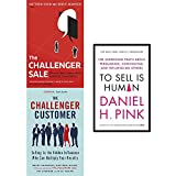 img - for Challenger sale, customer and to sell is human 3 books collection set book / textbook / text book