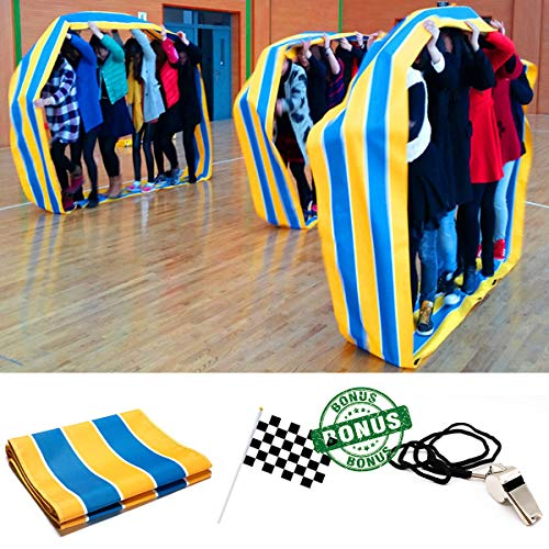 - TOPFEN Kids Group Learning Activity Fun Playing Run Mat for Obstacle Course and Teamwork Building Games