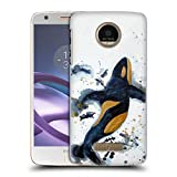 Official Lauren Moss Killer Whale of A Tale Sea Hard Back Case for Moto Z Force/Z Force Droid