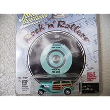 Johnny Lightning Rock N Roller Dan Fink Speedwagon with Music Cd Surf City By Jan and Dean