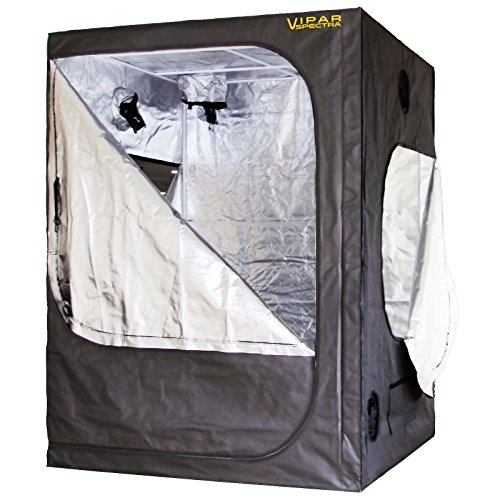 VIPARSPECTRA-60x60x80-Reflective-600D-Mylar-Hydroponic-Grow-Tent-for-Indoor-Plant-Growing
