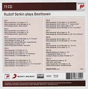 Rudolf Serkin plays Beethoven concertos, sonatas & variations
