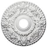 Ekena Millwork CM18RO Ceiling Medallion, Primed For Sale