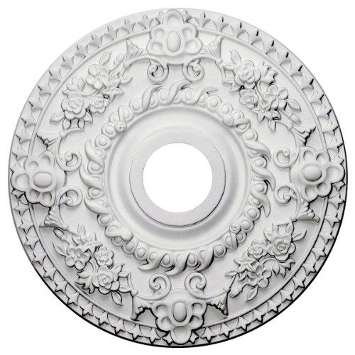 Ekena Millwork CM18RO Ceiling Medallion, Primed