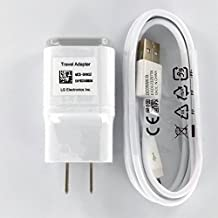 OEM LG 1.8 Charger MCS-04WD with 2.0 5FT Micro USB for LG G2 G3 Google Nexus G Flax L9 F3