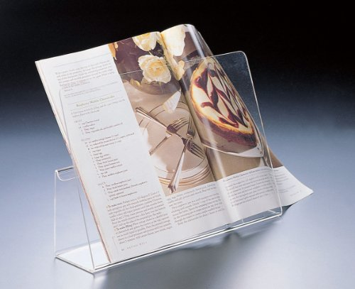 Cookbook or Recipebook Stand (Acrylic) (Acrylic Cookbook Stand compare prices)