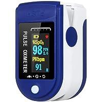 Pulsoximeter, syresättning mätinstrument finger, oximeter, pulsfrekvens och SpO2-värde, LED-display, för hushåll…