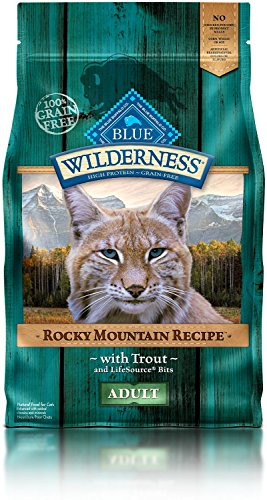 4 LB, Tasty, Protein-Rich Trout Adult Cat Food