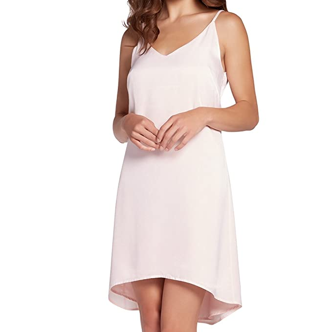 High Neck Slip Dresses