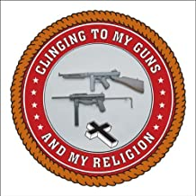 Clinging to My Guns and Religion Banner