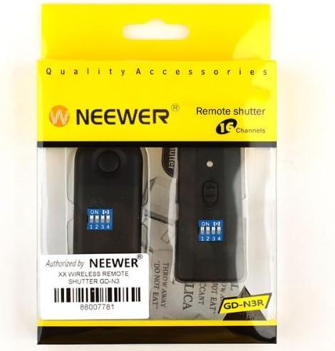 Neewer Digital DSLR Camera 16CH Wireless Shutter Release Remote Control for Nikon D5100 D5000 D3100 D90 D7000