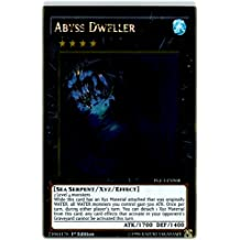 Yu-Gi-Oh! - Abyss Dweller (PGL3-EN068) - Premium Gold: Infinite Gold - 1st Edition - Gold Rare by Yu-Gi-Oh!