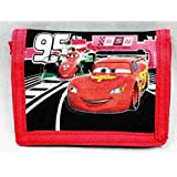Disney Pixar Cars Lighting McQueen Kids Trifold Wallet