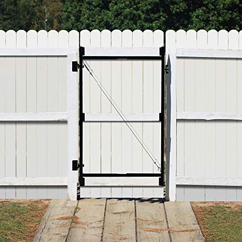 Adjust-A-Gate Steel Frame Gate Kit, 36''-60'' Wide Opening Up to 7' High (2 Pack) by Adjust-A-Gate (Image #3)