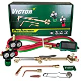 Victor Technologies 0384-2045 Performer Medium Duty Cutting System, Acetylene Gas Service, ESS3-15-510 Fuel Gas Regulator