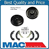 Mac Auto Parts Drum with Bearings Brake Shoes