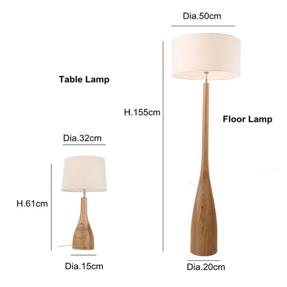 Flight Tracker Nordic Floor Lamp Slim Design Oak Wood Fabric Shade Simple Japanese Sofa Side Bedside Table Light Foyer Sitting Room E27 Lamp Lamps & Shades