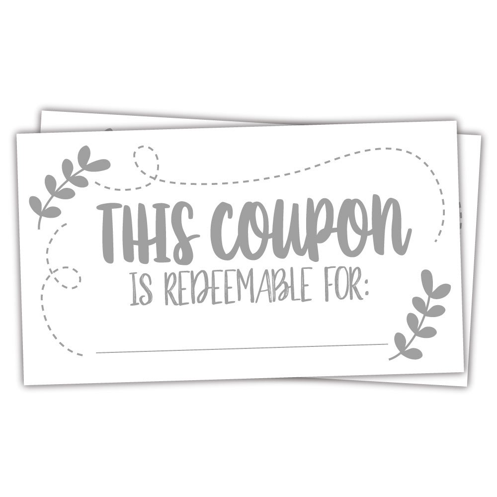 Amazon 50 Coupon Cards Coupons For Mom Wife Husband