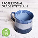 Bosmarlin Large Ceramic Coffee Mug, Big Tea Cup for Office and Home, 21 Oz, Dishwasher and Microwave Safe, 1 PCS