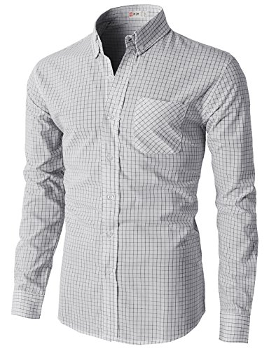 H2H Casual Button Patterned Various