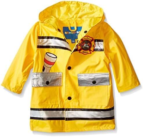 Wippette Baby Boys' Fireman Rainwear