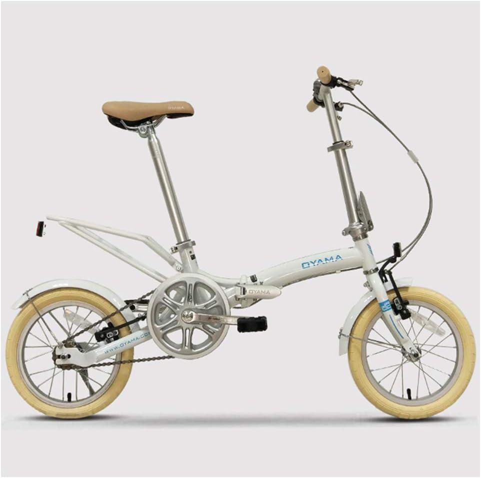 NENGGE Mini Bicicleta Plegable, 14