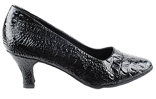 Very Fine Shoes Salsera Series SERA5513 Black Croc j3p4OW